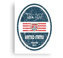 World Cup Football - United States Canvas Print