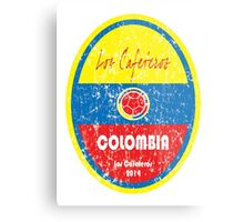 World Cup Football - Colombia Metal Print