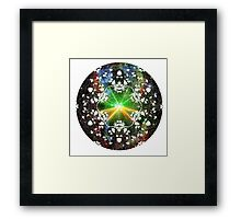 Psychedelicious Truffles Framed Print