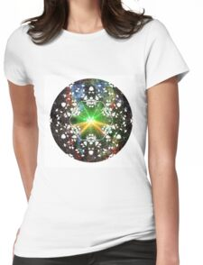 Psychedelicious Truffles Womens Fitted T-Shirt