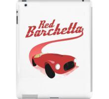 Red Barchetta iPad Case/Skin