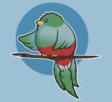 Cute Resplendent Quetzal Kids Tee