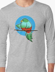 Cute Resplendent Quetzal Long Sleeve T-Shirt
