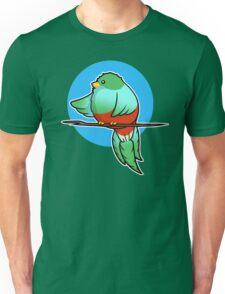 Cute Resplendent Quetzal Unisex T-Shirt