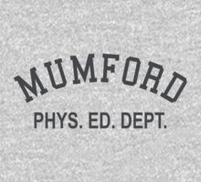 Mumford Phys Ed Dept One Piece - Short Sleeve