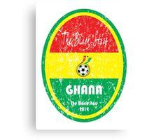 World Cup Football - Ghana Canvas Print