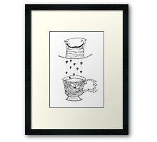 Alice in Wonderland (Tea Party) Framed Print