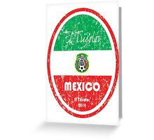 World Cup Football - Mexico Greeting Card