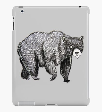 Silly Bear iPad Case/Skin