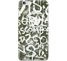 discombobulation iPhone Case/Skin