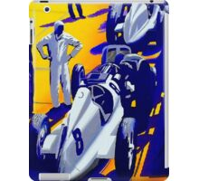 """NURBURGRING"" Vintage Grand Prix Auto Racing Print iPad Case/Skin"
