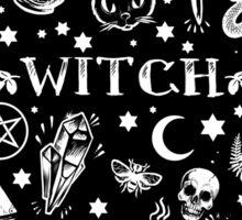 WITCH PATTERN 2 Sticker