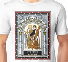 ST PETER AND ST PAUL under GLASS Unisex T-Shirt