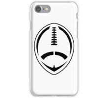 Football - Vector Art iPhone Case/Skin