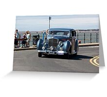 Vintage Bentley - West Kirby Car Rally - July 2014 Greeting Card