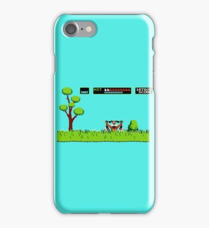 NES duck hunt dog game iPhone Case/Skin