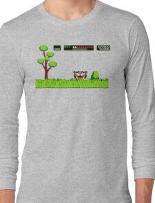 NES duck hunt dog game Long Sleeve T-Shirt