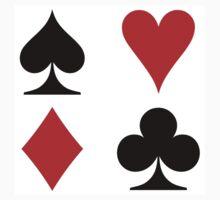 card symbols Kids Tee
