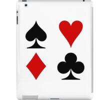 card symbols iPad Case/Skin
