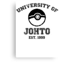 University of Johto Canvas Print