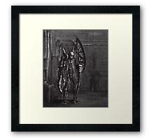 Mechanical Reaper Framed Print