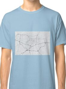 Greensboro, USA Map. (Black on white) Classic T-Shirt