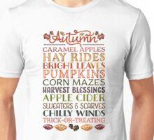Autumn Fun Unisex T-Shirt