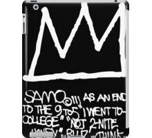 End to the 9 to 5 iPad Case/Skin