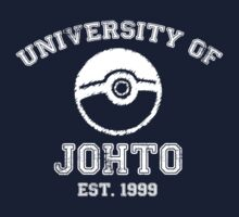 University of Johto - White Font by ScottW93