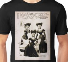Performing Arts Posters Hoyts comic whirlwind A brass monkey a satire on superstition 1248 Unisex T-Shirt
