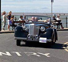 Black Vintage Car - West Kirby - July 2014 by Block123