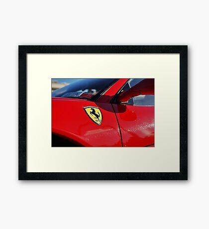EGM Sports car Framed Print