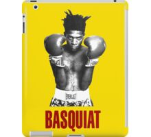 Jean Michel Basquiat Boxing iPad Case/Skin