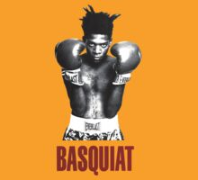 Jean Michel Basquiat Boxing by mijumi