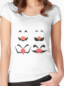 Face Of Women's Fitted Scoop T-Shirt