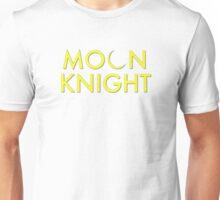 Moon Knight Comic Font Unisex T-Shirt