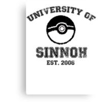 University of Sinnoh Canvas Print