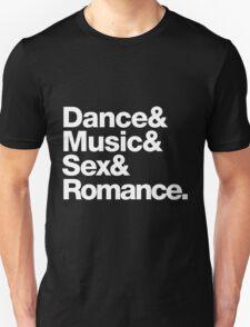 Prince Party Rules: Dance Music S3X Romance DMSR Unisex T-Shirt