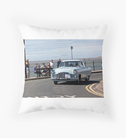 Ford Zephyr - Taken in West Kirby - July 2014 Throw Pillow
