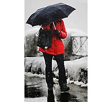 The Red Coat Photographic Print