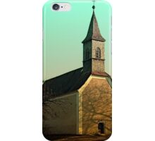 The village church of Hollerberg I | architectural photography iPhone Case/Skin