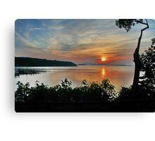 Sunrise on Vancouver Island,  Canvas Print