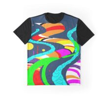 Space Structure Graphic T-Shirt