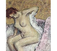 Edgar Degas - After The Bath Photographic Print