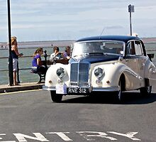 Vintage Car - White - West Kirby - July 2014 by Block123