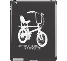 bike revolution iPad Case/Skin