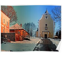The village church of Berg bei Rohrbach I | architectural photography Poster