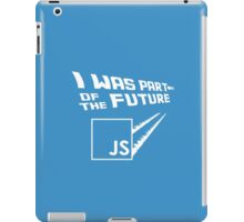 JS to the Future iPad Case/Skin