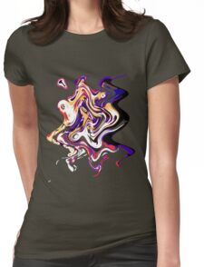 EjProject - Psychedelic 003 Womens Fitted T-Shirt