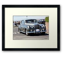 Vintage Two-Tone Bentley, West Kirby, July 2014 Framed Print